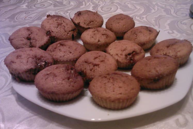 Muffins à la nougatine maison