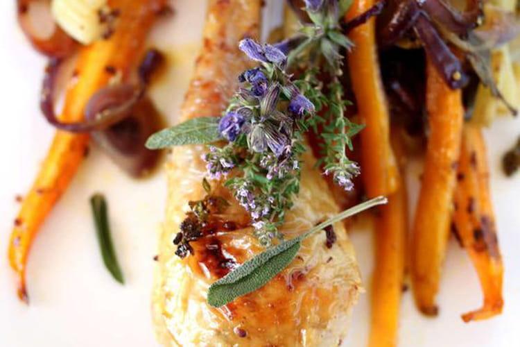 Cuisses de poulet fermier au four : la meilleure recette