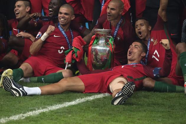 Christiano Ronaldo et son équipe ont exulté