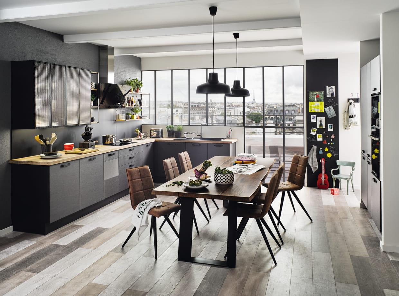 Cuisine label de cuisinella - Table de cuisine cuisinella ...