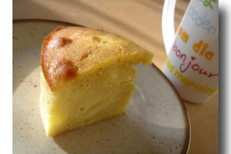 Cake aux pommes facile