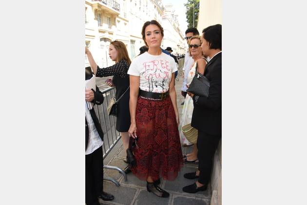 Mandy Moore chez Christian Dior