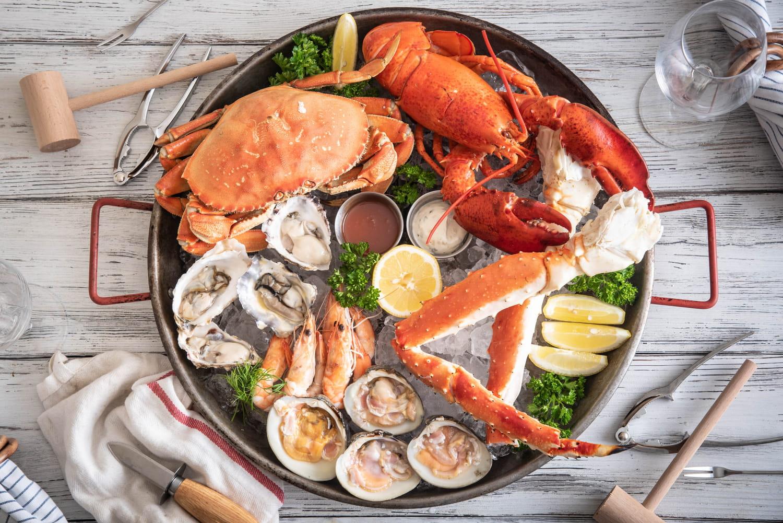 Comment préparer un plateau de fruits de mer?