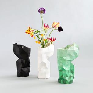 paper vase cover de pepe heykoop