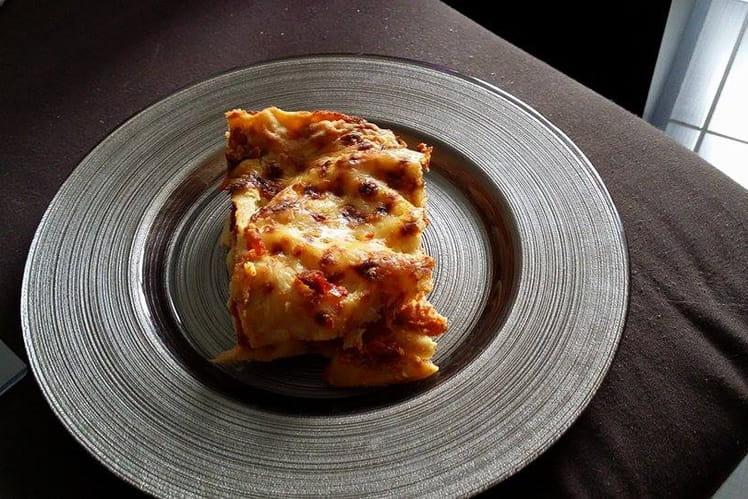 Lasagne chèvre-poivron