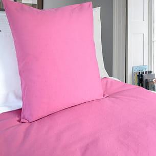 Plumetis en rose - Collection bouchara linge de lit ...
