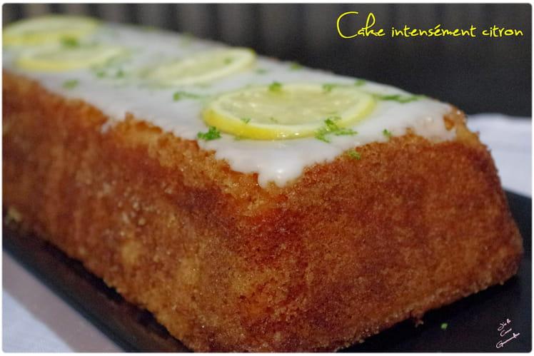 Cake intensément citron