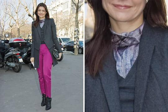 Fashion week : les street looks des défilés parisiens PAP automne-hiver 2011-2012 42