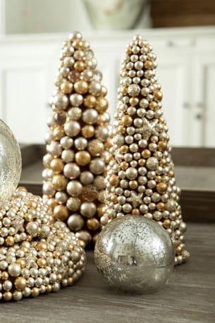 petit sapins de perles flamant