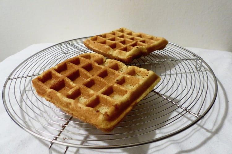 Délicieuses gaufres sans gluten et sans lactose