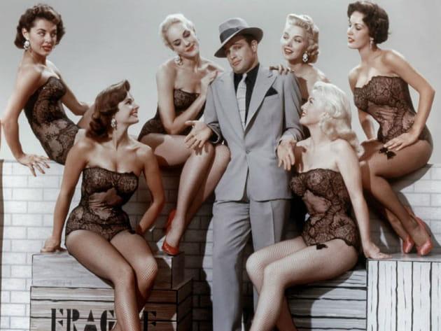 Mort Marlon Brando Blanches colombes et vilains messieurs, 1955