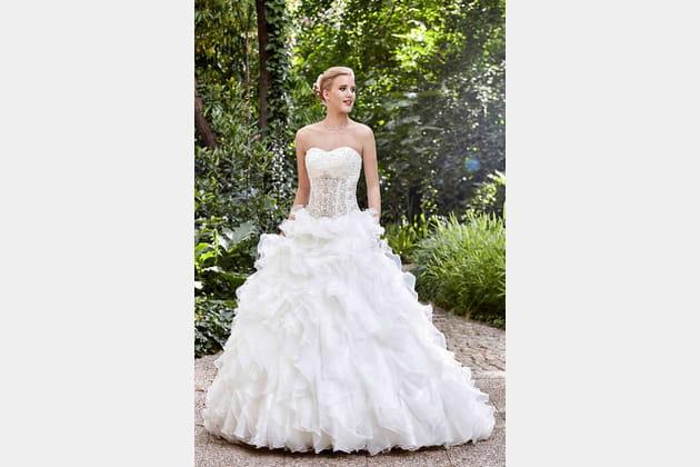 Robe de mariée Brissac de Point Mariage