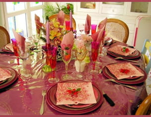 la table de catherine