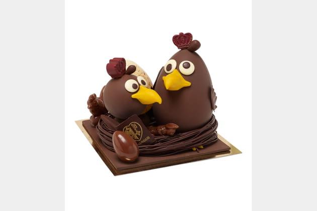 Les Aiglons Chocolatés de Favarger