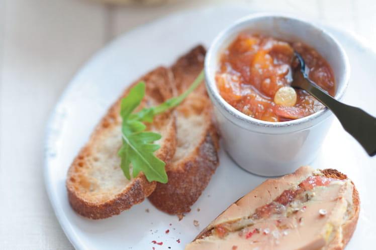 Recette de terrine de foie gras aux figues et son chutney la recette facile - Recette foie gras en terrine ...