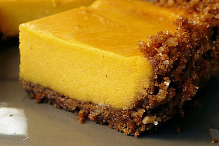 Cheesecake au potimarron et aux épices