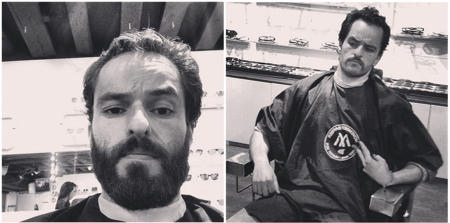 Yoni Saada moustache Movember