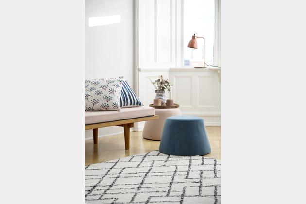 Vase et lampe de table