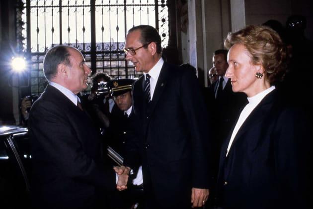 Avec Jacques Chirac, maire de Paris