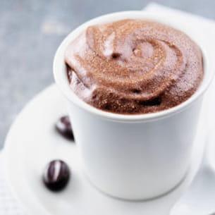mousse au chocolat grains de café