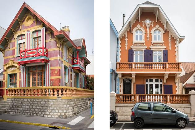 Les villas anciennes, atouts charme de Wimereux