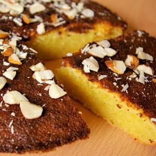 pain de gênes (gâteau génois aux amandes)
