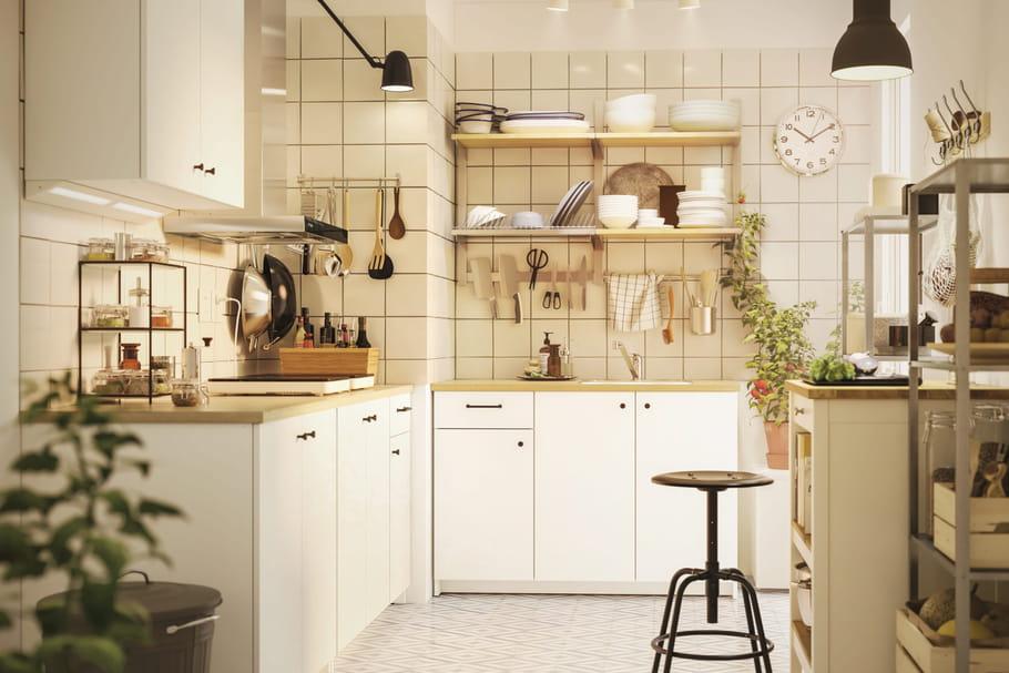 Rangement de la cuisine: meubles, idées et astuces pour s'organiser
