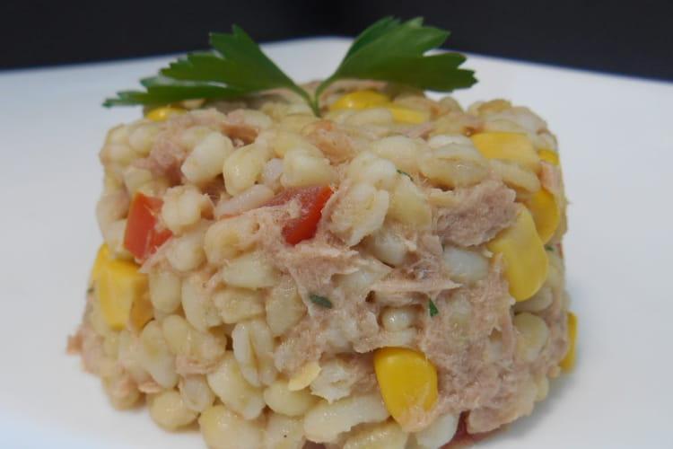 Salade de blé au thon