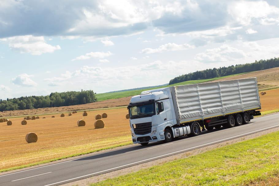 Une camionneuse, virée pour avoir fait ses besoins dans un champ