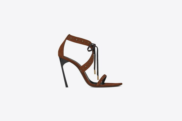 "Sandales ""Iris"" de Saint Laurent"