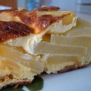 frittata aux pommes de terre et au fromage