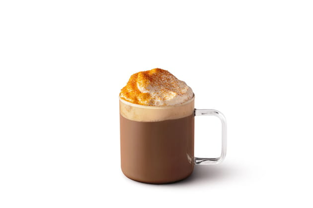 Le toasted Marshmallow hot chocolate de Starbucks