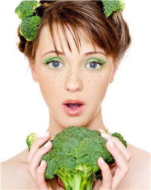 les choux-fleurs et les brocolis sont difficiles à digérer lorsqu'ils sont