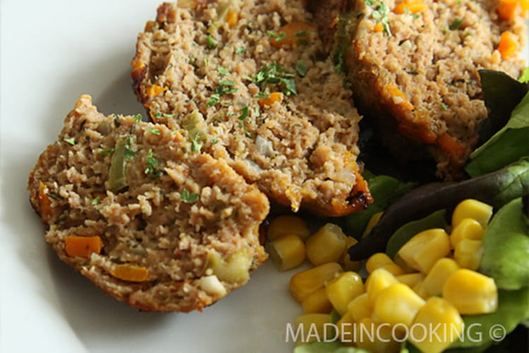 Recette de pain de viande original la recette facile for Plat original facile