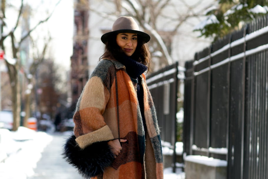 Comment s'habiller avec style quand il fait très froid?