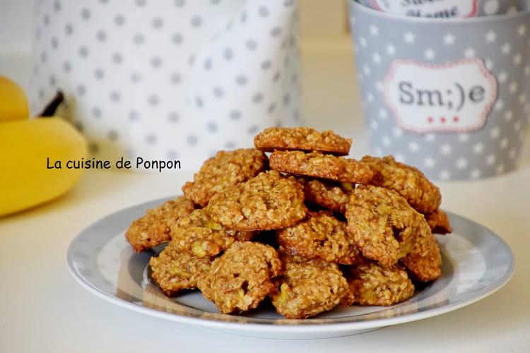 Biscuit aux flocons d'avoine, sans oeufs, vegan