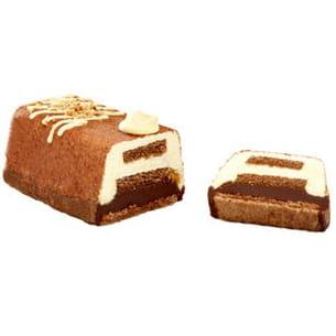 bûche chocolat-poire