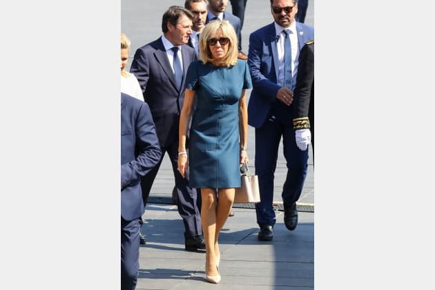 Brigitte Macron le 17juillet 2017