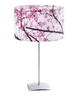 la lampe de table 'fleurs de cerisier' de potiron