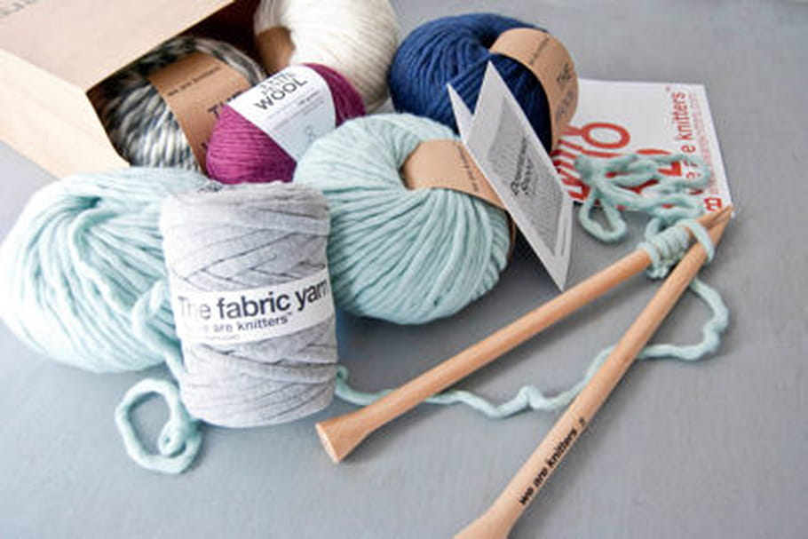 We are knitters lance la Knitting Box
