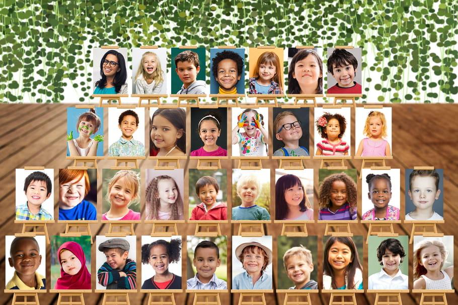 Un papa crée un site pour réaliser des photos de classe virtuelles