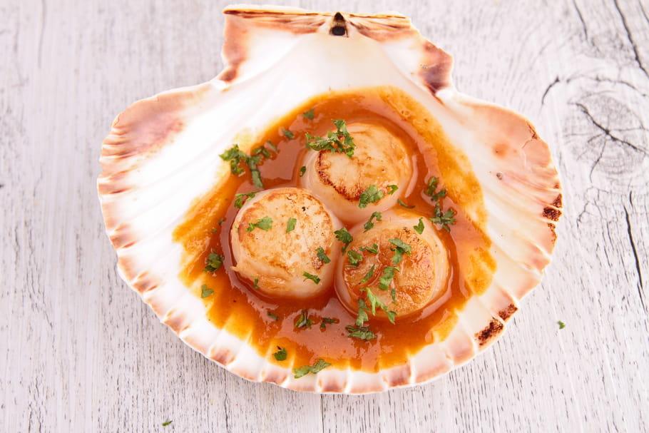Comment cuisiner des noix de saint jacques surgel es - Comment cuisiner des flageolets en boite ...