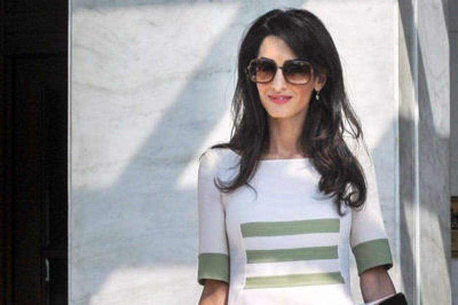 Le look people du jour: Amal Clooney, pro