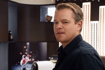 Matt Damon, aux côtés de George Clooney pour Nespresso