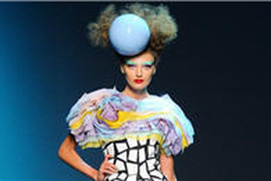 Défilé Dior haute couture automne-hiver 2011-2012