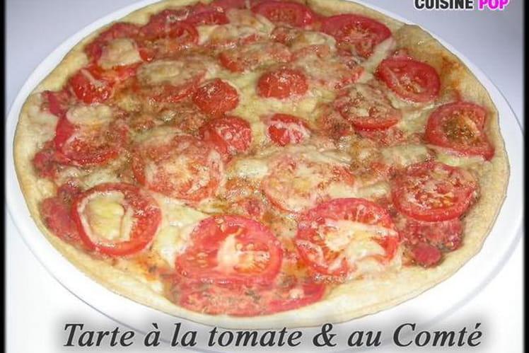 Tarte tomate-comté
