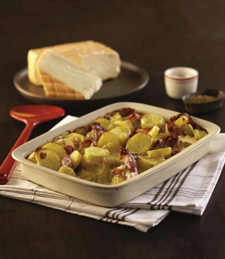Recette de ch tiflette de ratte du touquet la recette facile - Cuisiner la ratte du touquet ...