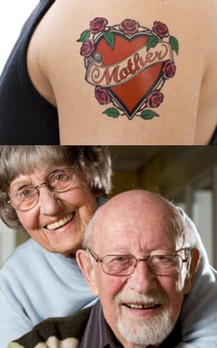 un tel tatouage et cette photo dans le portefeuille : des signes qui ne trompent
