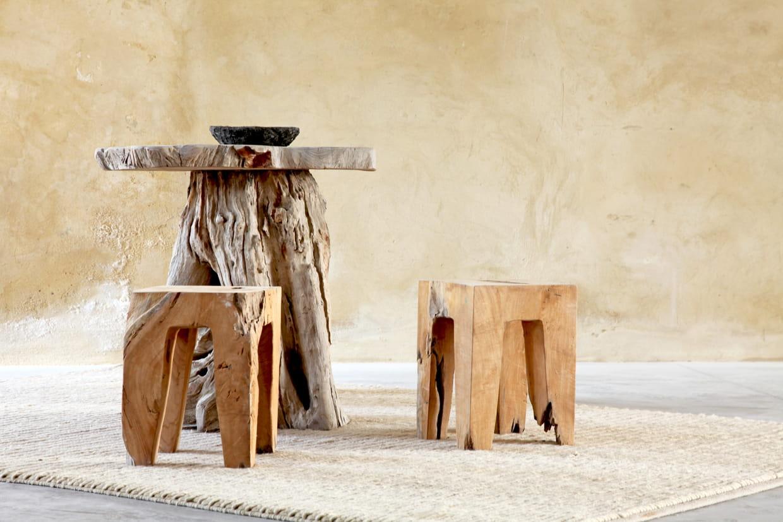 Meubles en bois flott for Meuble en bois flotte