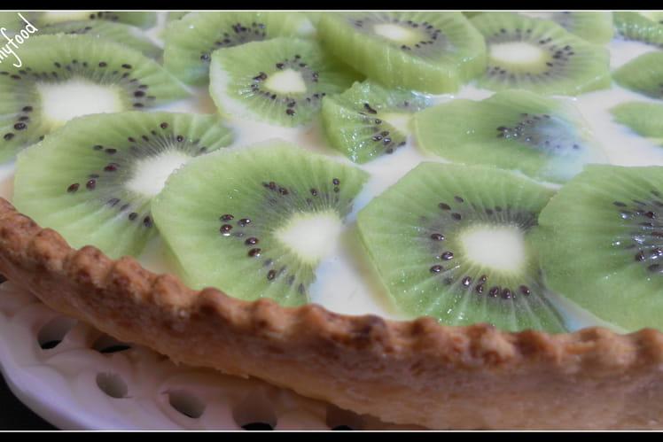 Tarte aux kiwis à la crème pâtissière